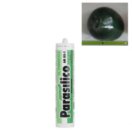 Mastic silicone RAL 6009 Vert Sapin Parasilico AM 85-1