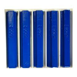 5 bâtons de cire malléable 8 cm bleu outremer RAL 5002 Konig