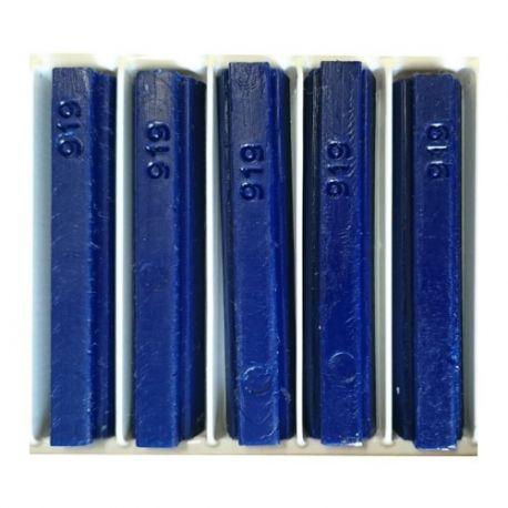5 bâtons de cire malléable 8 cm bleu 919 Konig