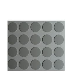 Capuchons cache vis adhésif couleur gris par 100