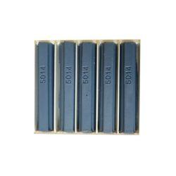 5 bâtons de cire malléable 8 cm bleu pigeon RAL 5014 Konig