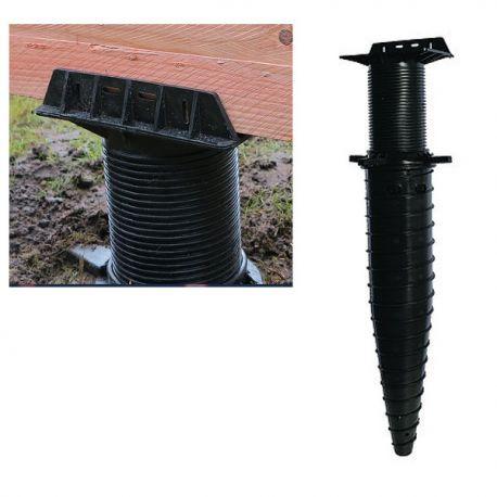 plot fondation visser pour terrasse hapax rock 140x700 mm perffixe tools. Black Bedroom Furniture Sets. Home Design Ideas