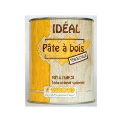 Pâte à bois Idéal Surgand chêne moyen 0,25 L