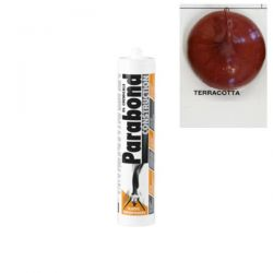 Mastic Colle Parabond Construction Terracotta rouge