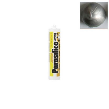 Mastic sanitaire PARASILICO SANITAIR N couleur INOX