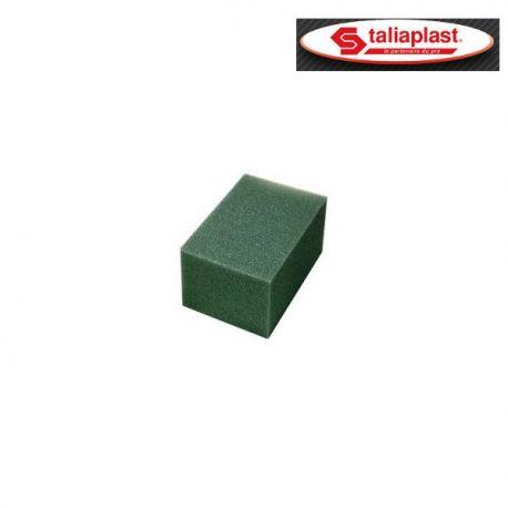Eponge synthétique grise 15x10x8cm Taliaplast