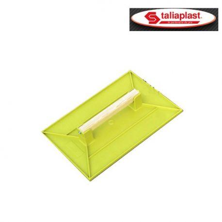 Taloche en Ps Choc jaune rectangulaire 27x18
