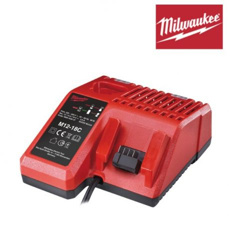 Chargeur Milwaukee M12-18C pour 18V 14V 12V