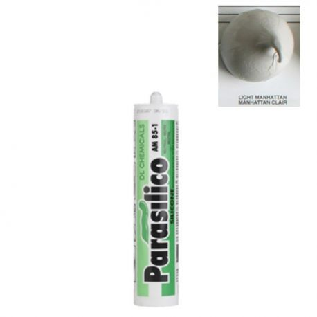 Mastic silicone Light Manhattan clair gris Parasilico AM 85-1