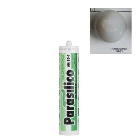 Mastic silicone transparent gris Parasilico AM 85-1