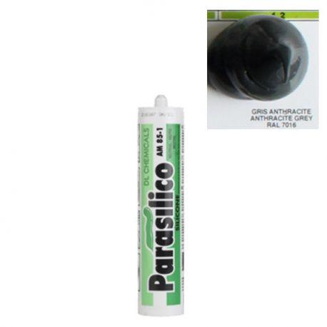 Mastic silicone RAL 7016 gris anthracite Parasilico AM 85-1