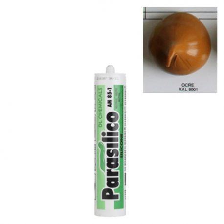 Mastic silicone RAL 8001 Ocre Parasilico AM 85-1