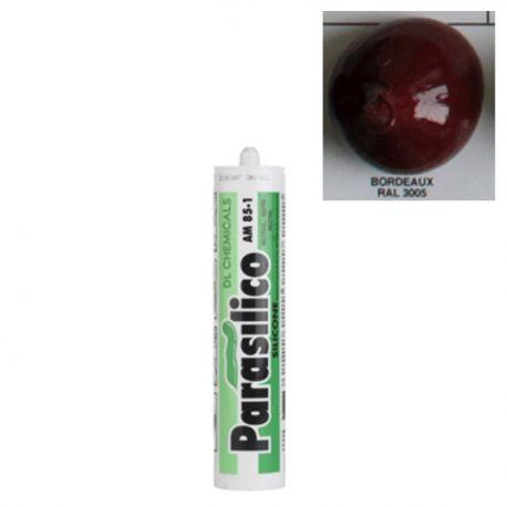 Mastic silicone RAL 3005 Bordeaux Parasilico AM 85-1