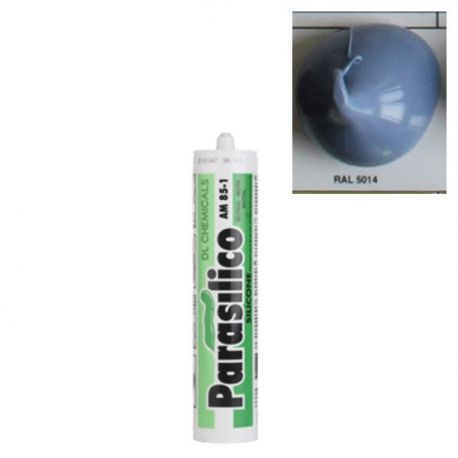 Mastic silicone RAL 5014 bleu Parasilico AM 85-1
