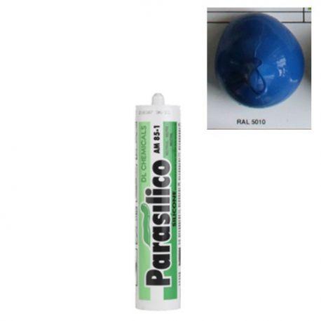 Mastic silicone RAL 5010 bleu Parasilico AM 85-1
