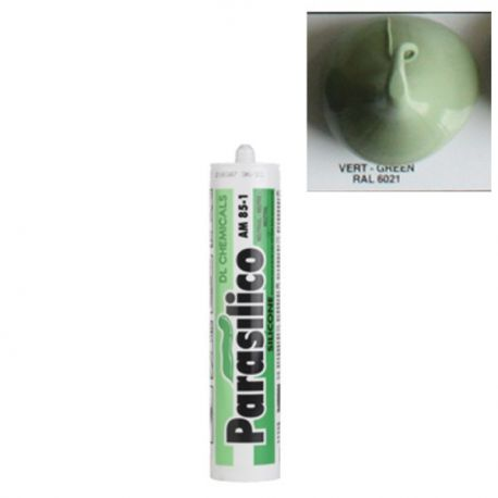 Mastic silicone RAL 6021 vert pale Parasilico AM 85-1