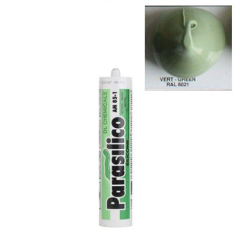 Mastic silicone RAL 6021 vert pale Parasilico AM 85-1
