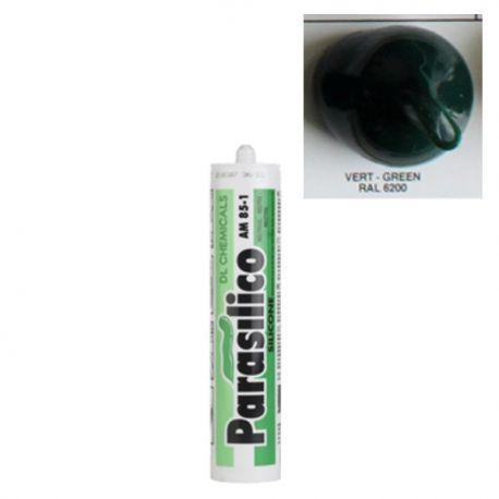 Mastic silicone RAL 6200 vert Parasilico AM 85-1