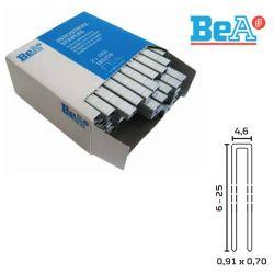 Agrafes type 97 longueur 6 mm largeur 4,6 mm par 50000 galvanisées résinées