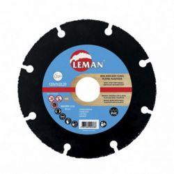 Disque à tronçonner carbure 125x1 mm PVC, bois avec clou et plaque de plâtre