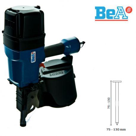 Cloueur pneumatique pointes en rouleaux BDC lien métal 130 DC BeA