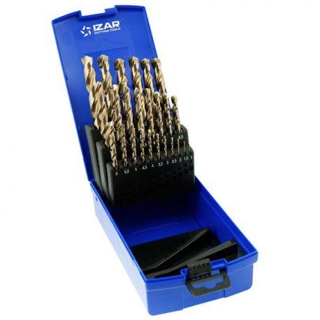 Coffret forets métaux 1-13 x 0.50 HSSE DIN338 25 pièces