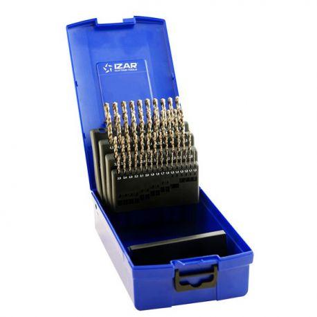 Coffret forets métaux 1-5.9 x 0.10 HSSE DIN338N 50 pièces