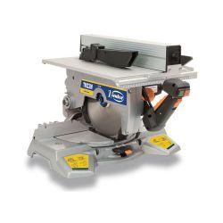 Scie à onglet inclinable avec table supérieure Virutex TM33W version bois