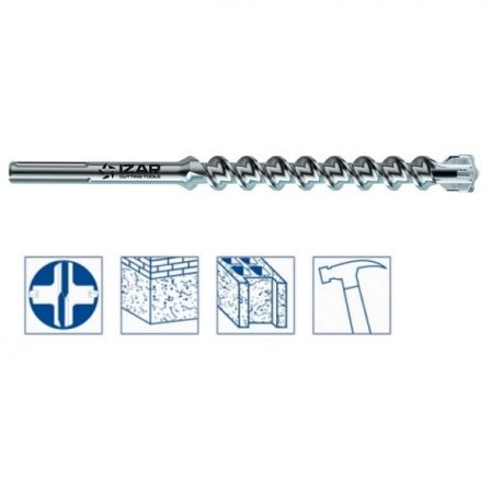 Foret béton SDS Max 35x670 mm haut rendement