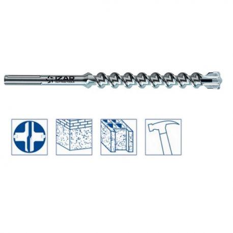Foret béton SDS Max 38x570 mm haut rendement