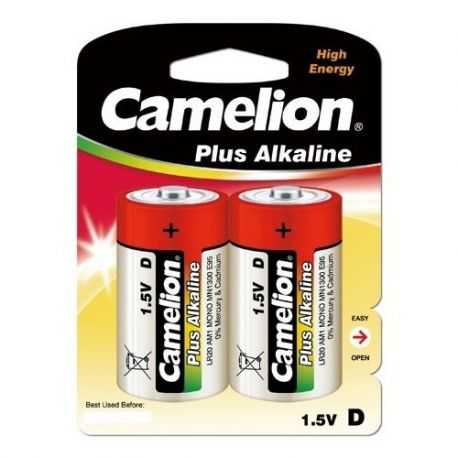 Blister de 2 piles Alcaline Plus C LR14