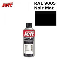 Peinture retouche RAL 9005 NOIR MAT aérosol 400ml