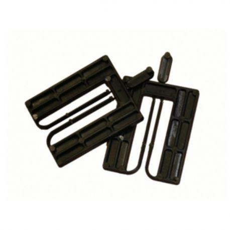 Cales fourchettes 52x65mm épaisseur 10mm par 50