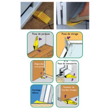 Levier multifonction jaune