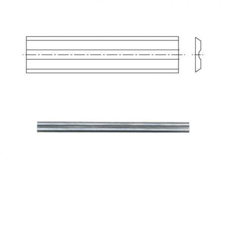 10 fers pour rabots portatifs 82x5,5x1,1mm
