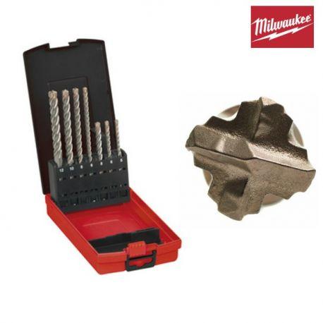 Coffret forets béton MX4 Milwaukee 7 pièces