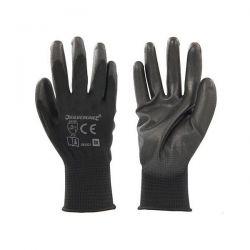 Gants paume renforcée noirs taille XL
