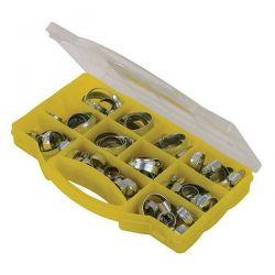 Coffret de colliers pour tuyaux 60 pièces